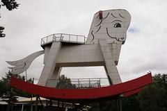 Luggage storage Big Rocking Horse
