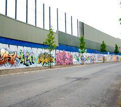 Consigne bagage Mur de la Paix Belfast