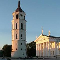 Consigne bagage Cathédrale de Vilnius
