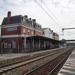 Deposito bagagli alla Gare de Béthune