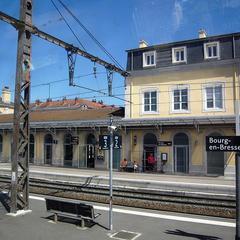 Luggage storage in Gare de Bourg-en-Bresse