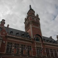 Consigna equipaje en la Gare de Dunkerque