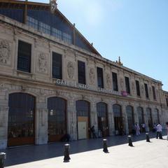 Consigna equipaje en la Marseille Saint-Charles Estación