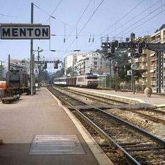 Luggage storage in Gare de Menton