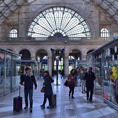 Consigna equipaje en la Gare de l'Est - Estación de París Este