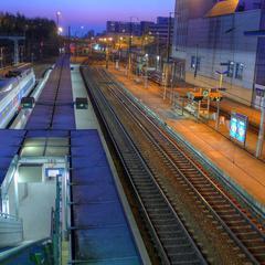 Consigna equipaje en la Rennes Estación