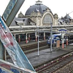 Luggage storage in Saint-Brieuc train station
